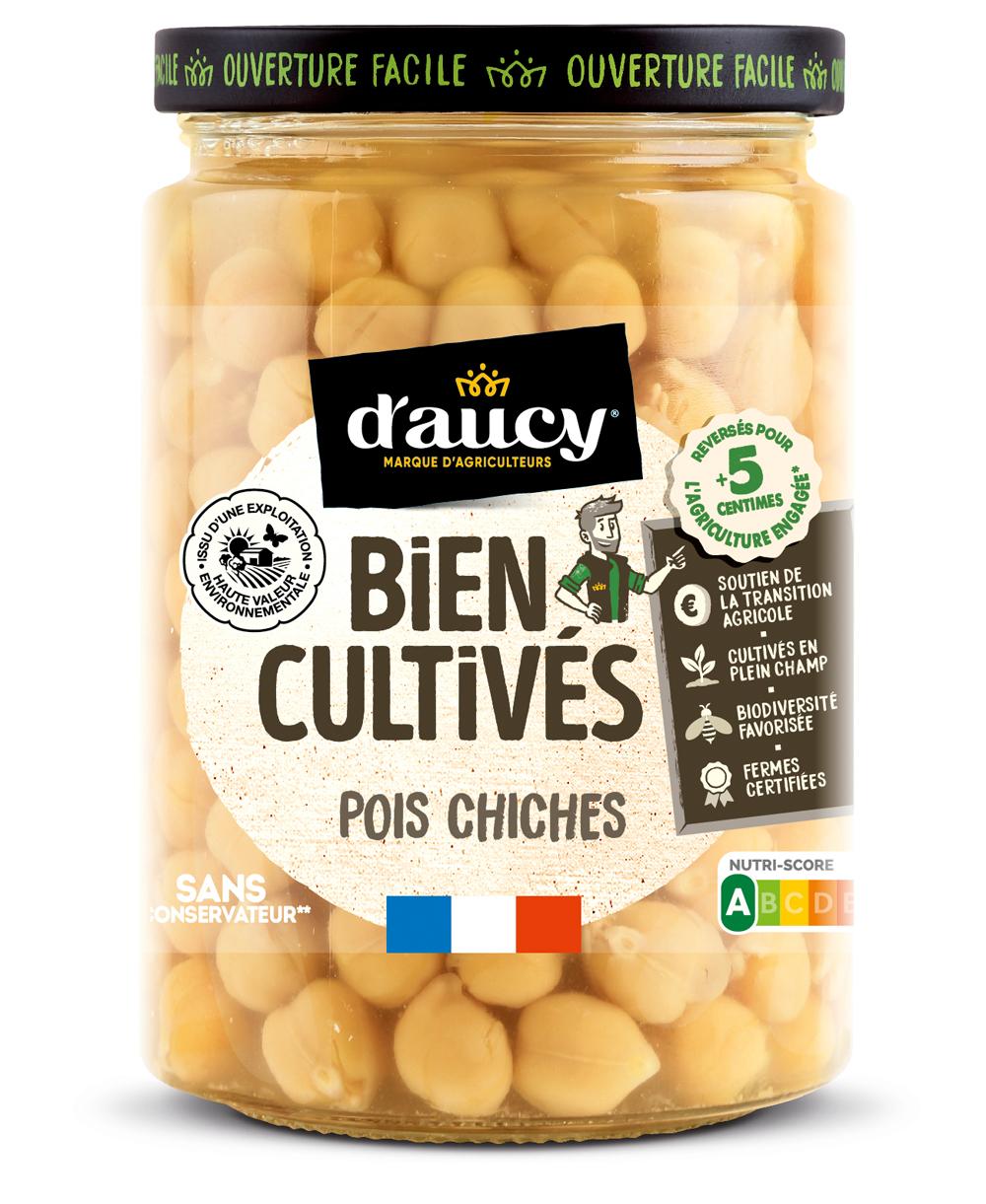 daucy01 - « Bien Cultivés » de d'aucy, la nouvelle gamme de légumes issus d'exploitations certifiées H.V.E.