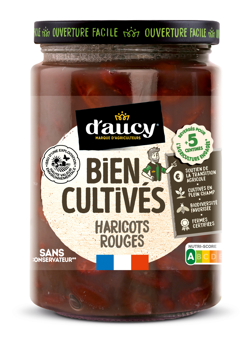 daucy03 - « Bien Cultivés » de d'aucy, la nouvelle gamme de légumes issus d'exploitations certifiées H.V.E.