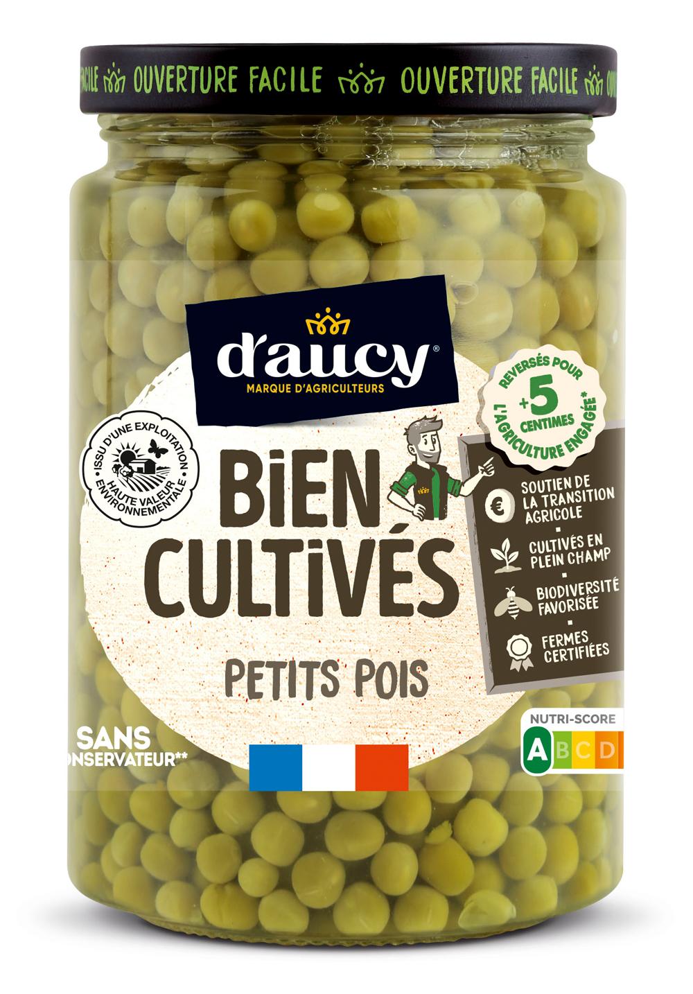 daucy04 - « Bien Cultivés » de d'aucy, la nouvelle gamme de légumes issus d'exploitations certifiées H.V.E.