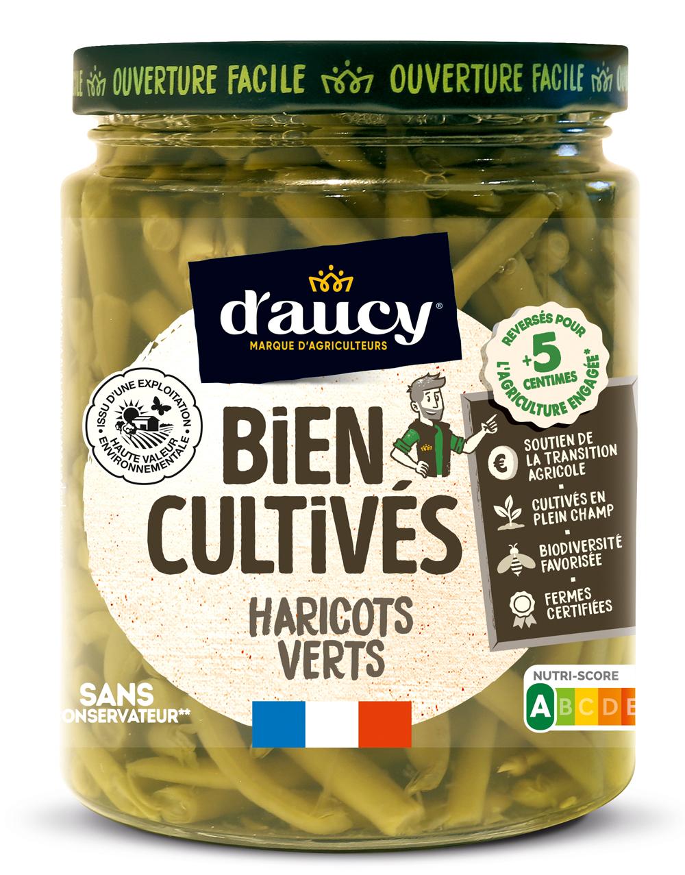 daucy05 - « Bien Cultivés » de d'aucy, la nouvelle gamme de légumes issus d'exploitations certifiées H.V.E.