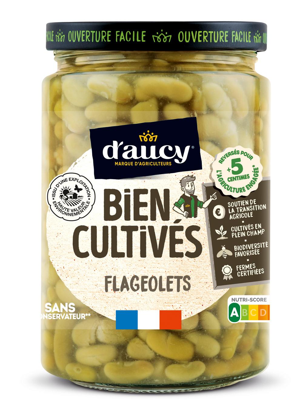 daucy06 - « Bien Cultivés » de d'aucy, la nouvelle gamme de légumes issus d'exploitations certifiées H.V.E.