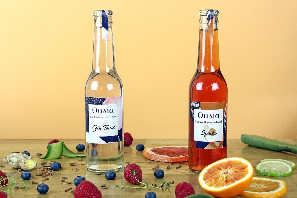 deux bouteille large - Ousia, l'essence de l'apéritif sans l'alcool