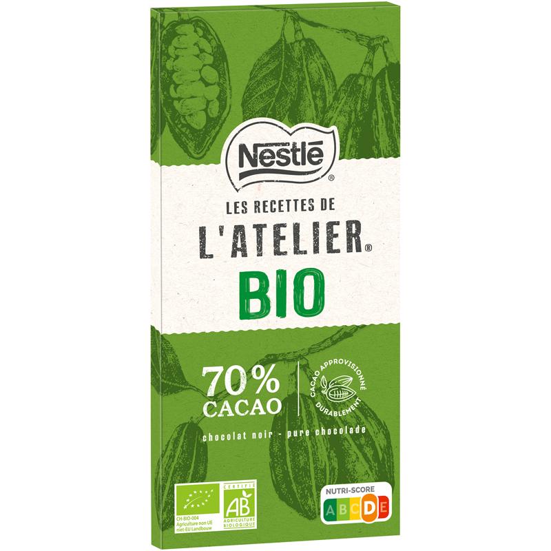 nestlebio - Les Recettes de l'Atelier® réinvente les codes de la dégustation