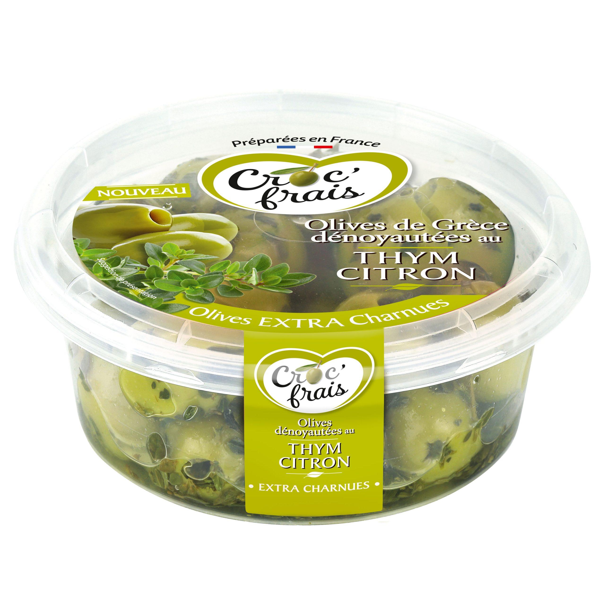 thym citron scaled - Deux nouvelles recettes d'olives de Grèce par Croc'Frais