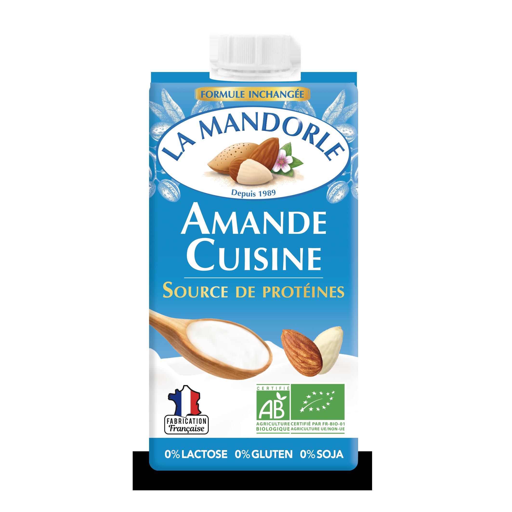 ACU FACE 20 HD - La Mandorle, des plaisirs santé, nutritifs et savoureux à tous les repas