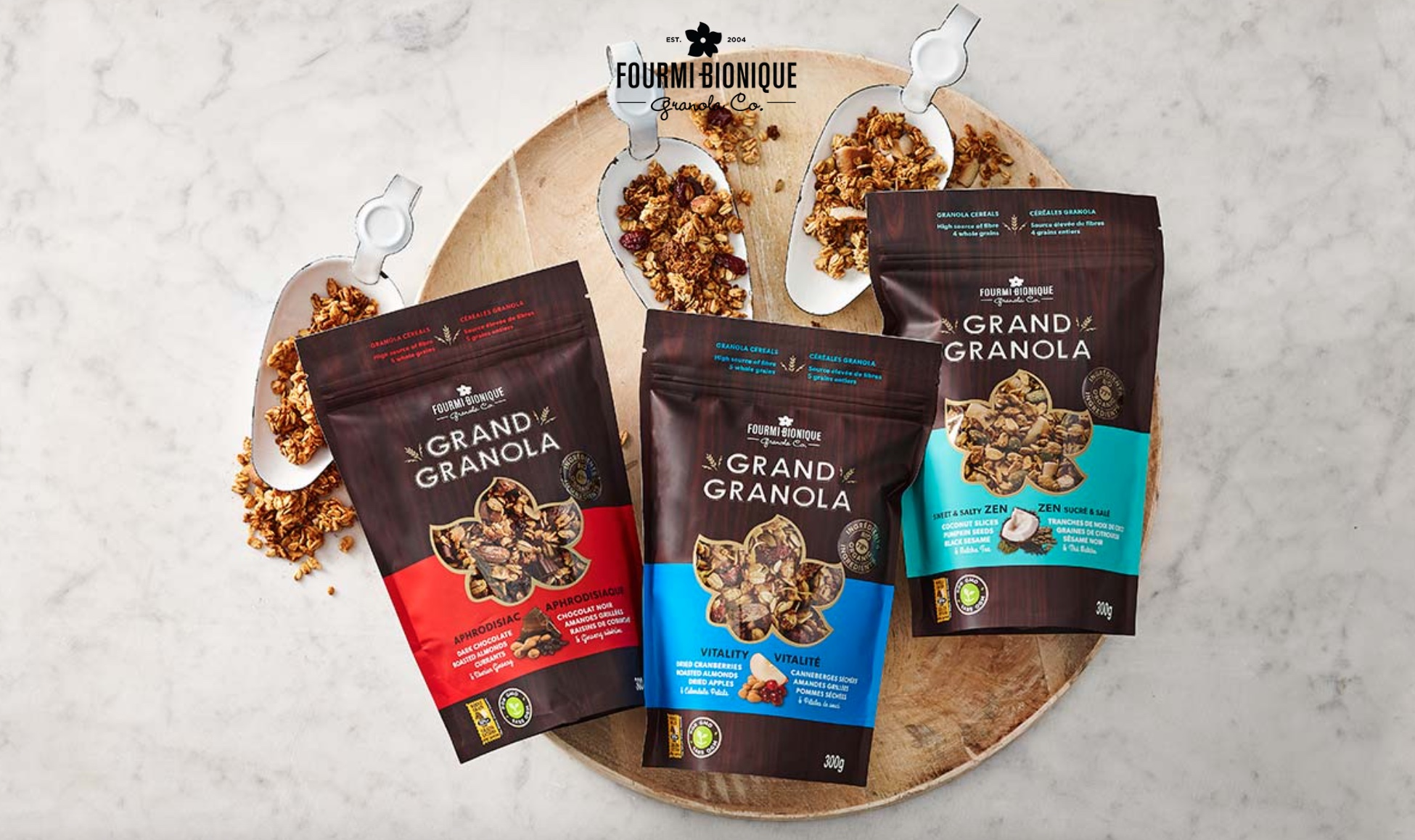 Capture decran 2021 04 08 a 21.18.18 - Fourmi Bionique : le granola premium canadien débarque en France pour un petit déjeuner qui dépote