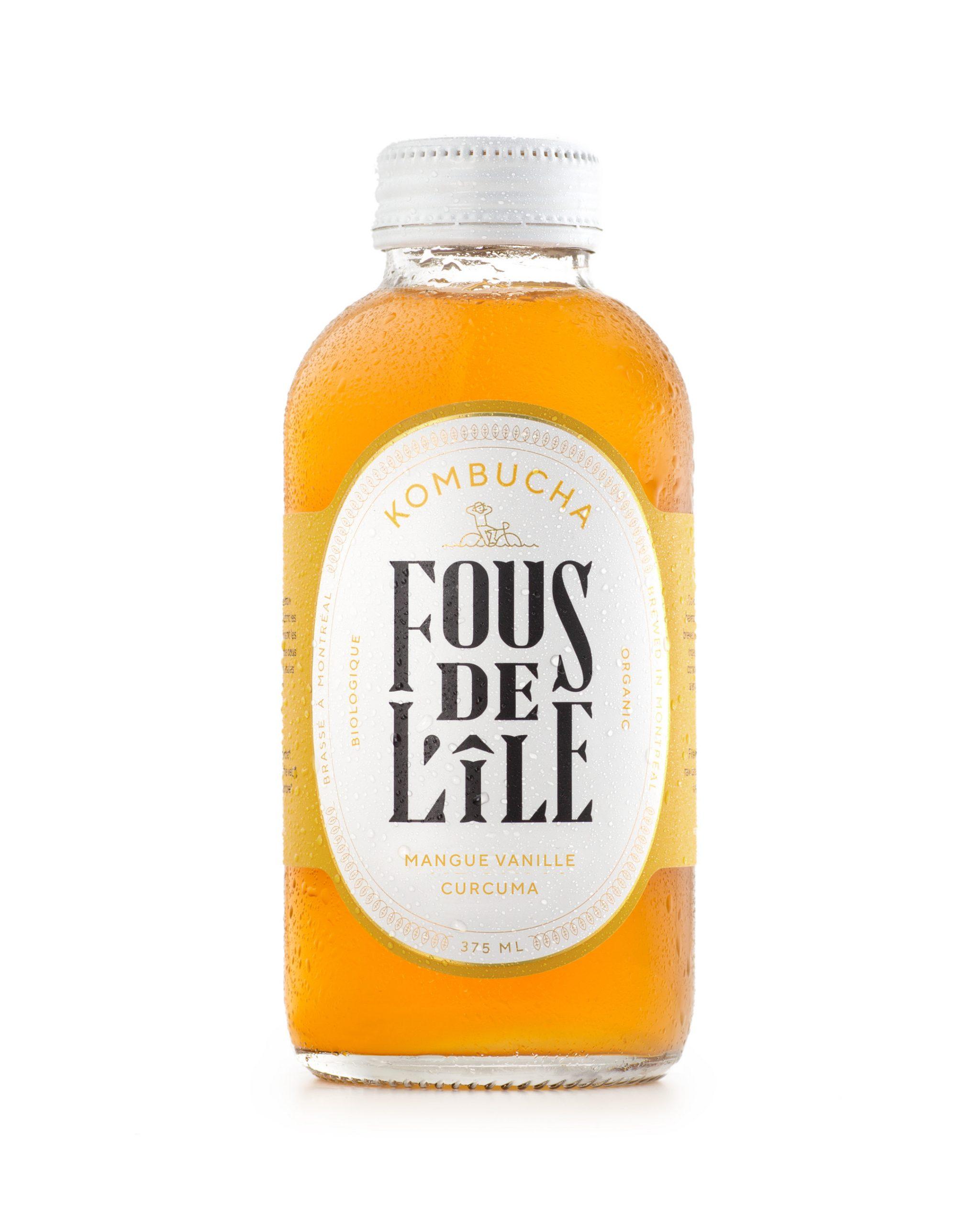 HD KOM Mangue vanille curcuma nouveaute 2021 scaled - Un kombucha local, éthique et écologique