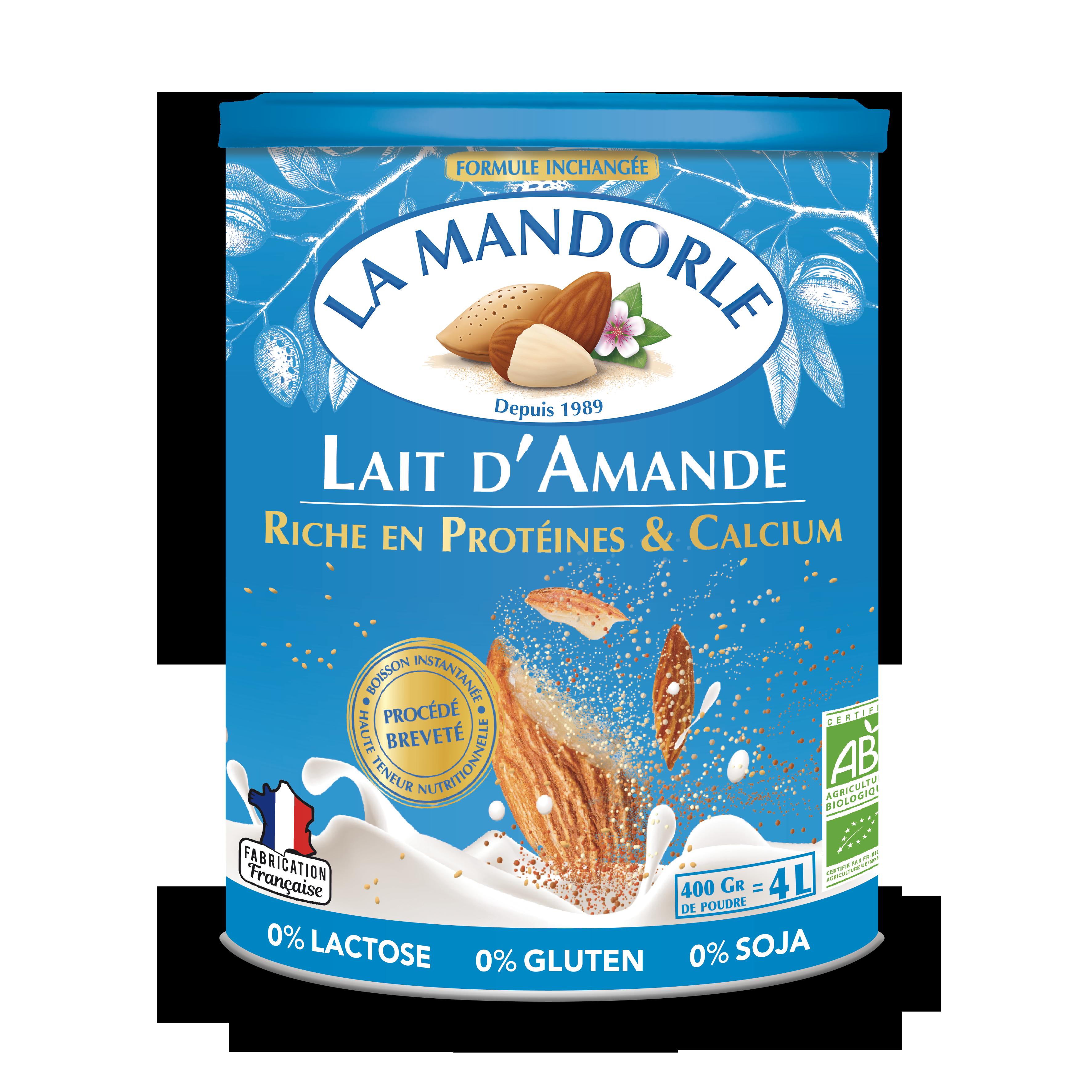 LM FDA 3D CAPBLEU HD - La Mandorle, des plaisirs santé, nutritifs et savoureux à tous les repas