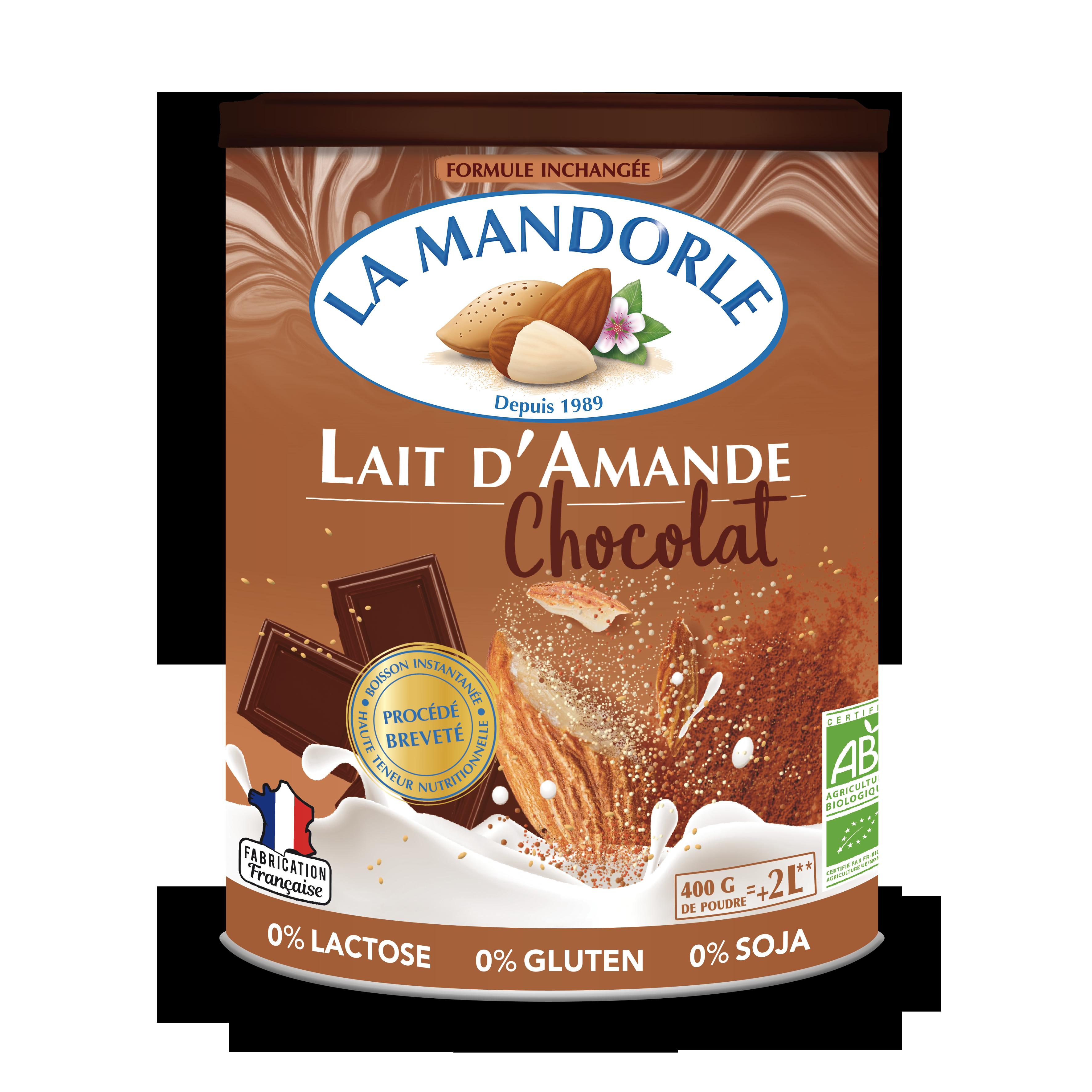 LM KKO 3D CAP MARRON HD - La Mandorle, des plaisirs santé, nutritifs et savoureux à tous les repas