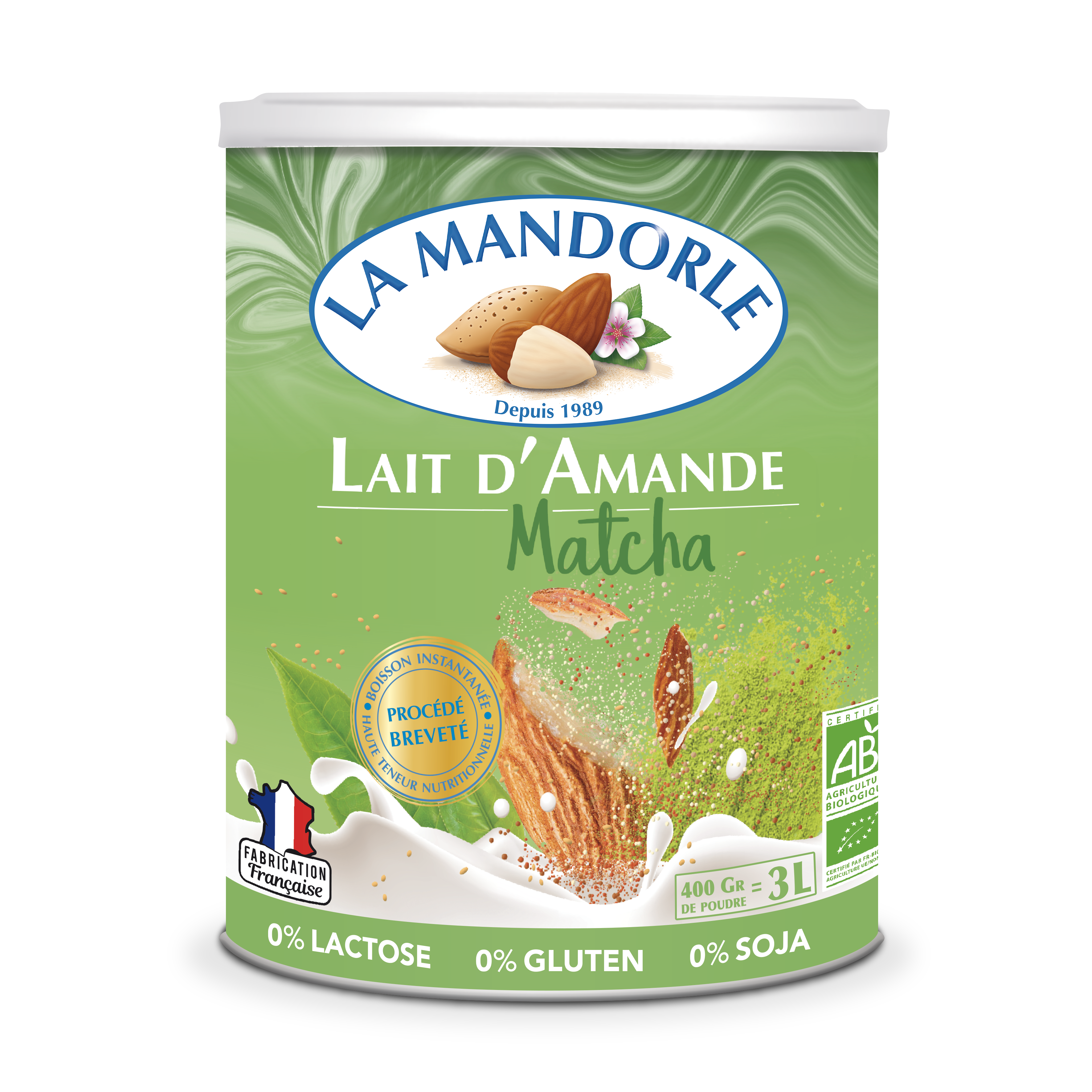 LM LAM 3D HD - La Mandorle, des plaisirs santé, nutritifs et savoureux à tous les repas