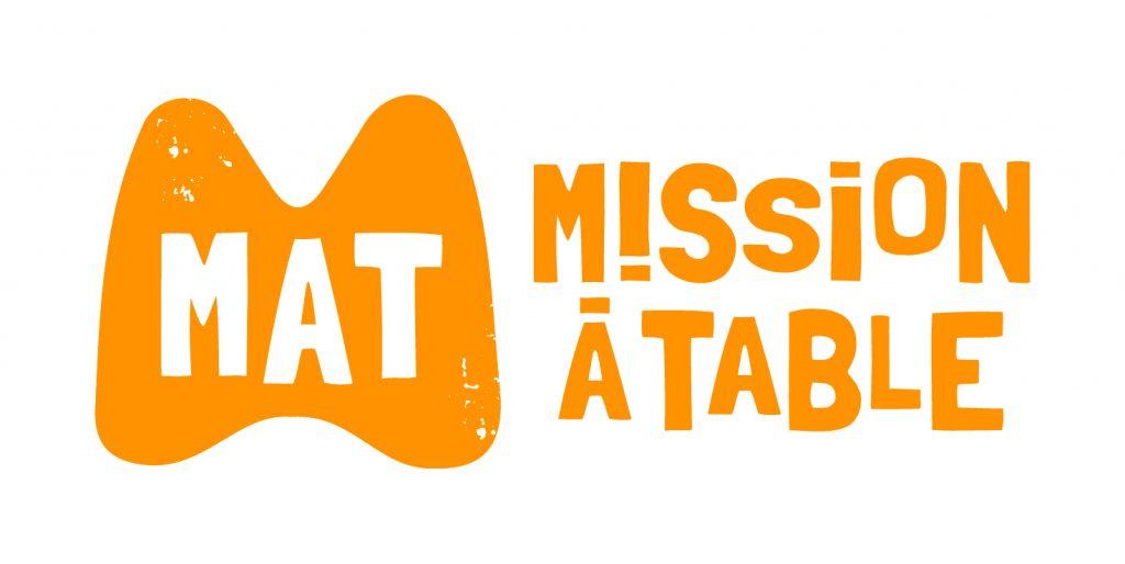"""MAT MissionATable Orange RVB 1024x514 - Les enfants cuisinent pour leurs parents avec les kits """"Mission à table"""""""