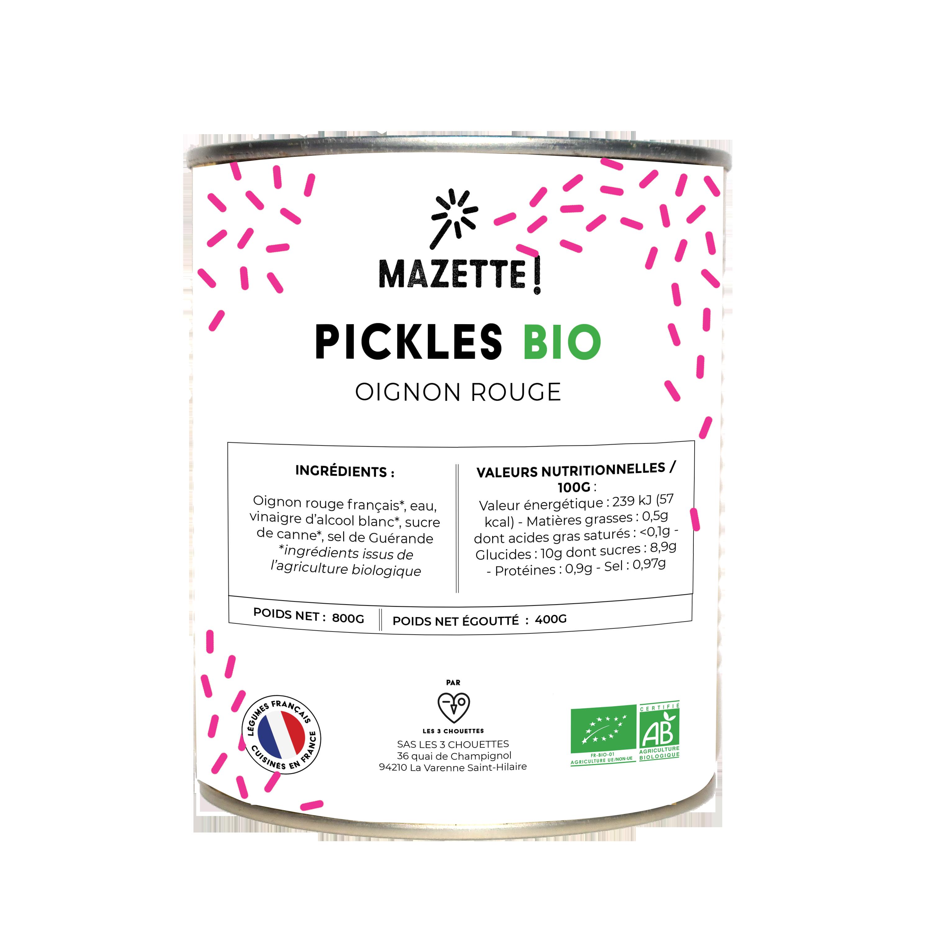 MAZETTE RHF OIGNON ETINCELLES V2 1 - MAZETTE! Des pickles pour les chefs