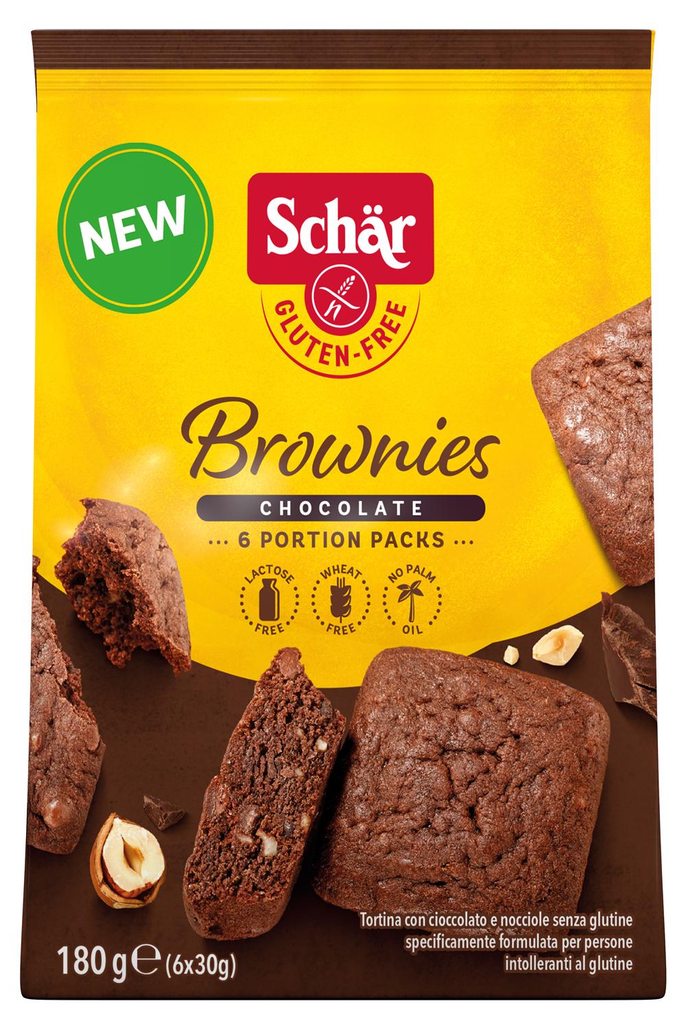 brownie - Des madeleines et brownies sans gluten