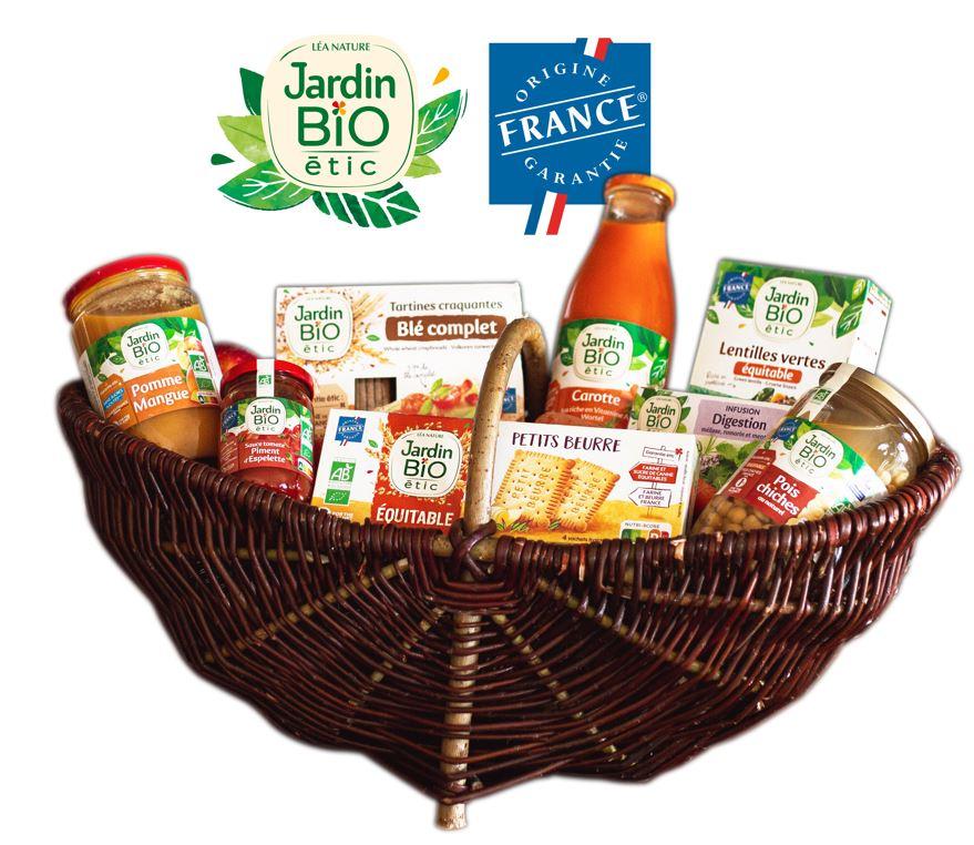 jBE OFG - Jardin BiO étic®, première marque nationale d'épicerie bio certifiée Origine France Garantie
