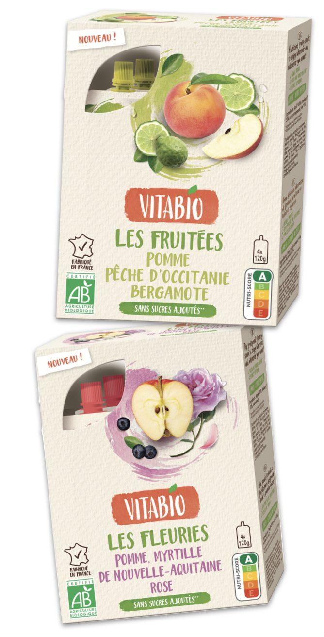 vitabio - Deux nouvelles recettes inédites pour les gourdes de fruits Vitabio