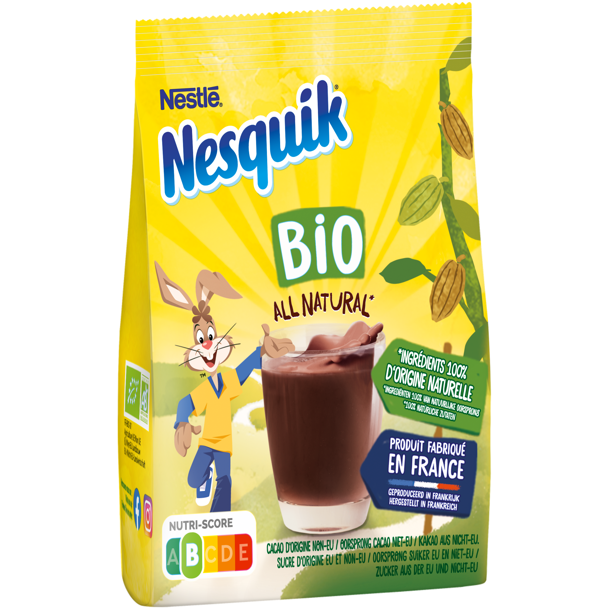 3D Nesquik BIO - Nesquick innove avec deux nouvelles références éco-responsables