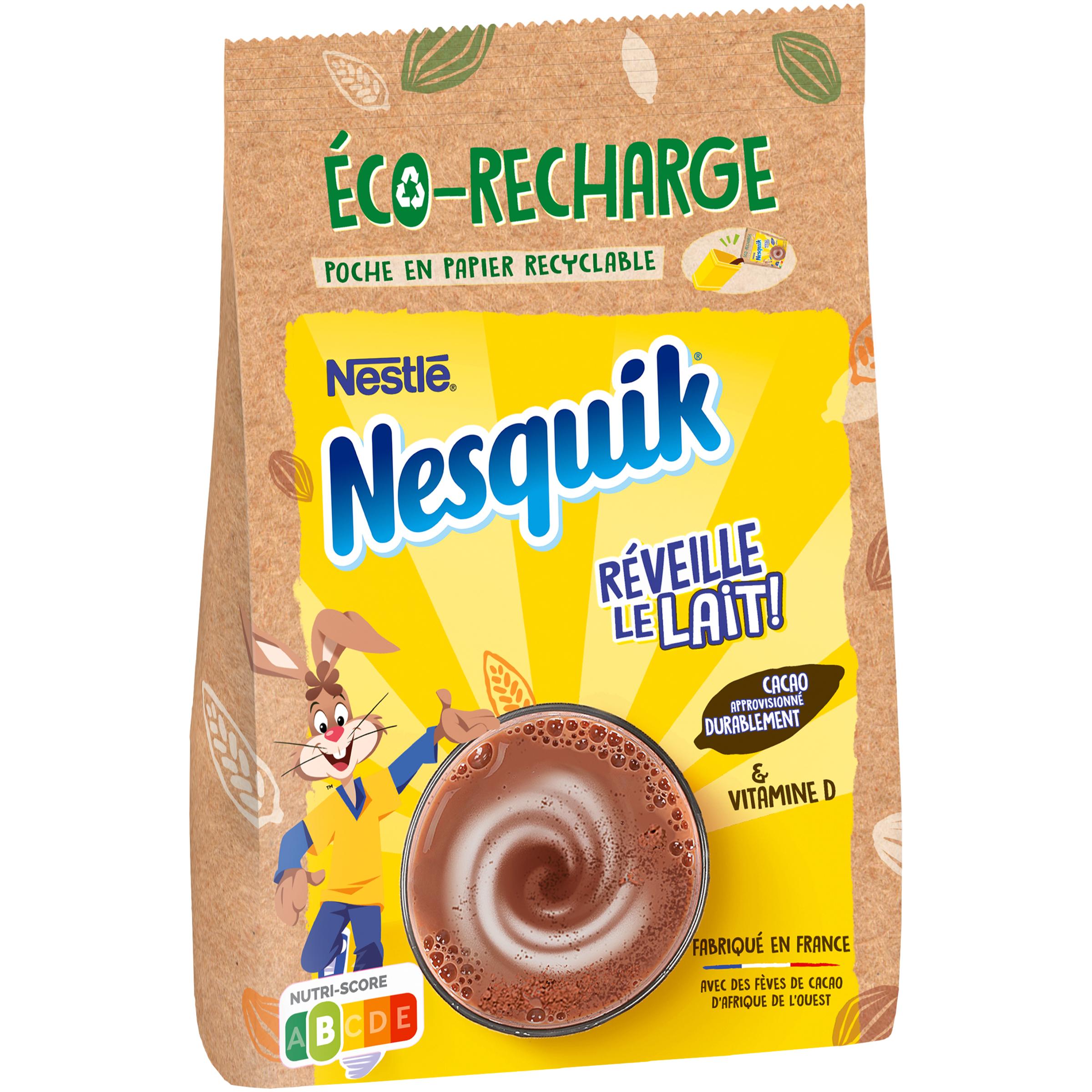 3D eco recharge - Nesquick innove avec deux nouvelles références éco-responsables