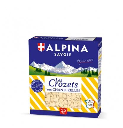 3d crozets chanterelles 2 - Alpina Savoie, leader mondial des crozets !