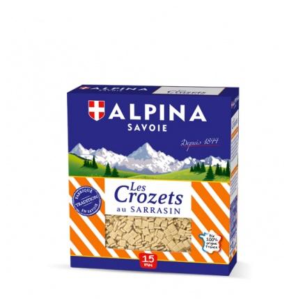 3d crozets sarrasin 2 - Alpina Savoie, leader mondial des crozets !