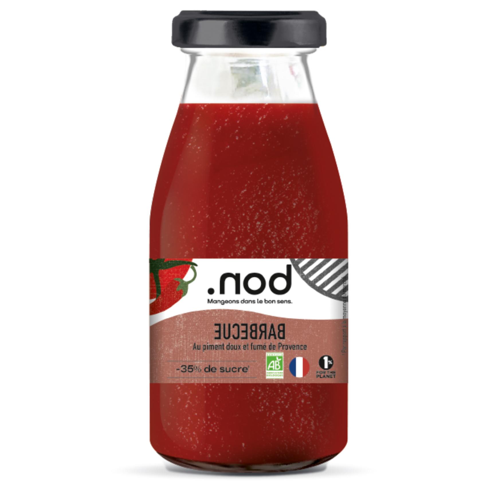 BBQ FACE - .nod, la marque pour manger dans le bons sens !
