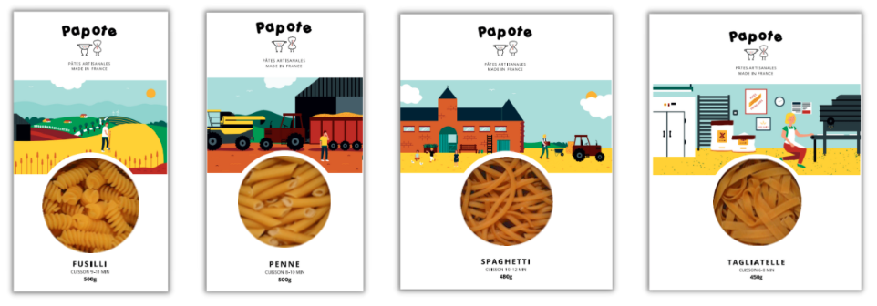 Capture decran 2021 05 07 a 10.07.32 - Papote : des pâtes artisanales made in France