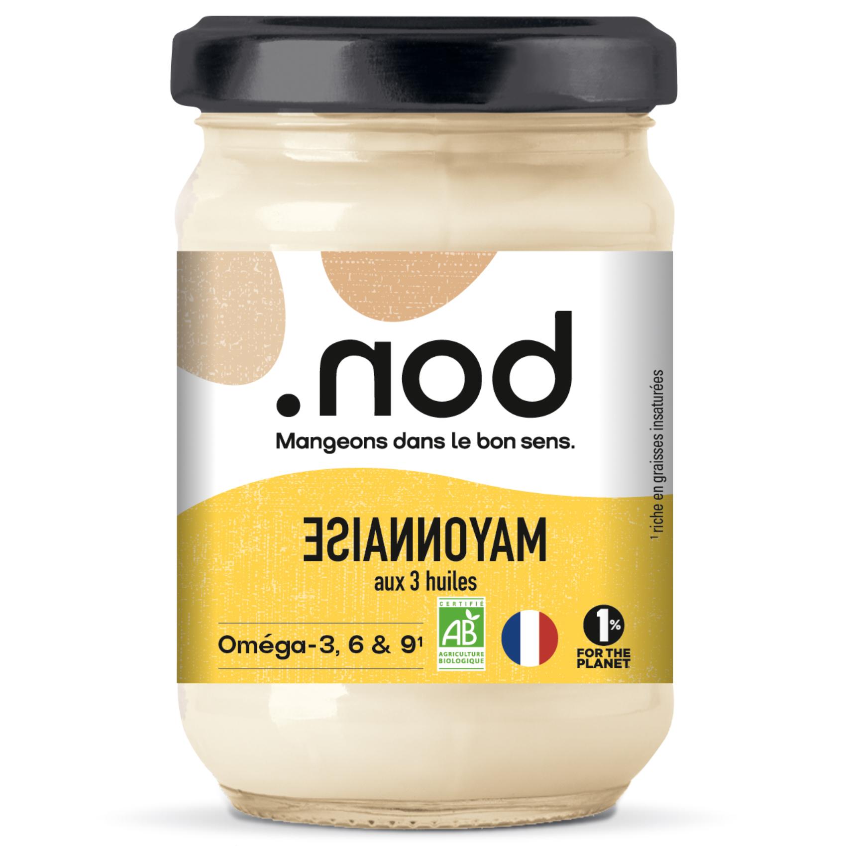 MAYONNAISE  - .nod, la marque pour manger dans le bons sens !