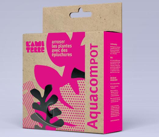 Packaging AquaCompot 1 - Faire pousser ses plantes avec des épluchures