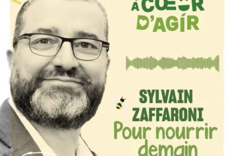 sylvain zaffaroni 480x320 - Podcast À Coeur d'Agir : rencontre avec Sylvain Zaffaroni, cofondateur de la Communauté Pour nourrir demain