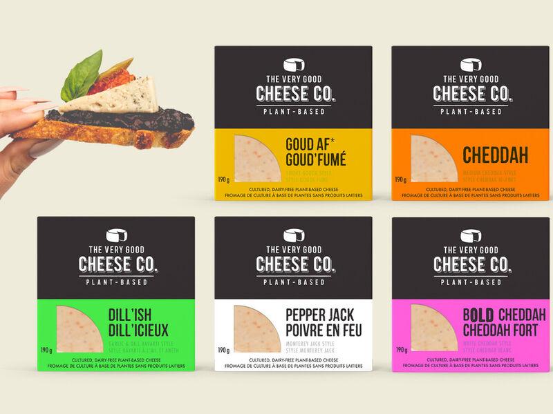 453848 1 800 - The Very Good Cheese Co. recrée des fromages populaires avec des noix de cajou