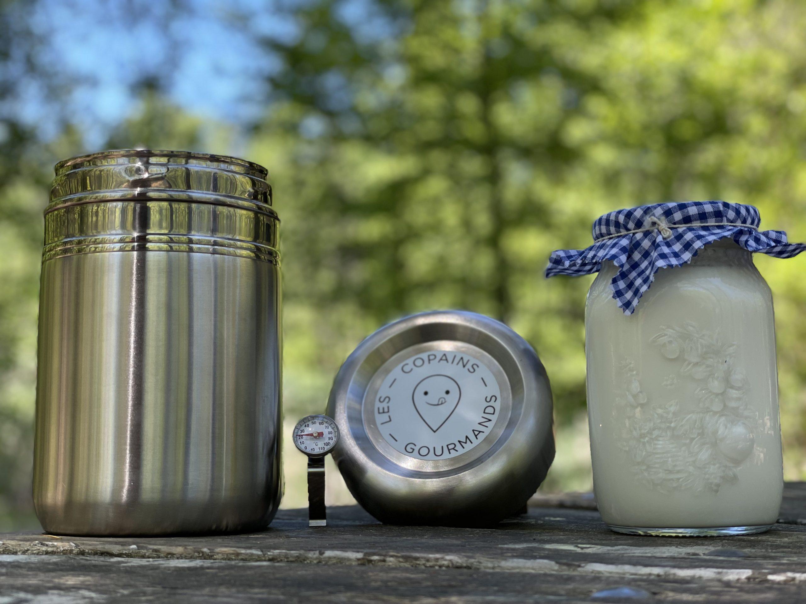 Berengere la Yaourtiere 2 scaled - Les copains gourmands lance la première yaourtière durable en France