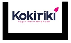 Logo KOKIRIKI alternative vegan food - Kokiriki : une marque vegan française et innovante