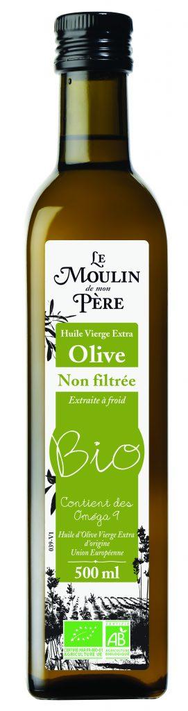 MDP OLIVE NON FILTREE CMJN 271x1024 - Huile d'olive : un trio de nouveautés pour des saveurs garanties