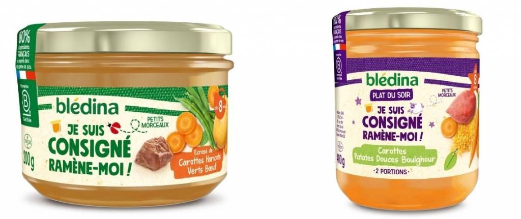 bledina petits pots consignes bebes alimentation infantile durable1 1024x431 1 - Blédina lance sa première gamme de petits pots consignés pour bébés