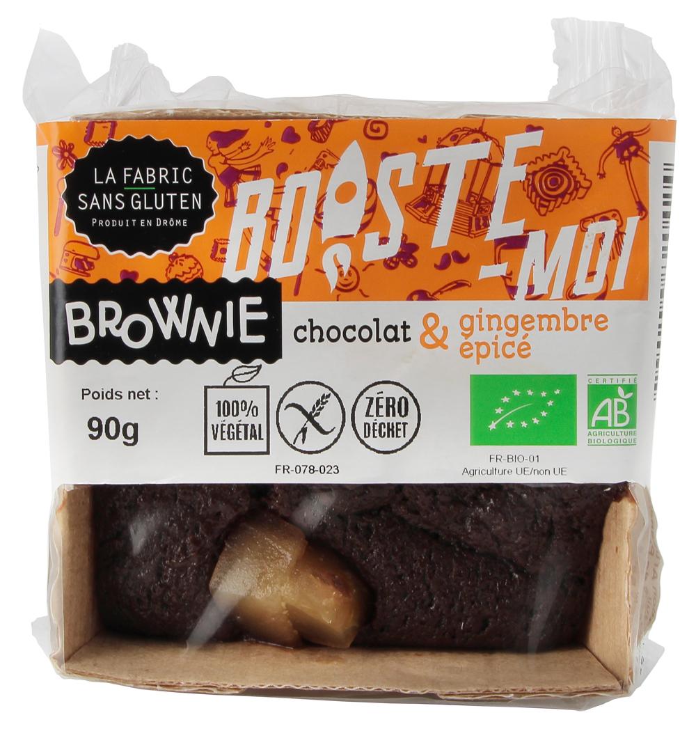BROWNIES EPICE LA FABRIC SANS GLUTEN - Brownies : 5 recettes bio et sans gluten pour des goûters réussis