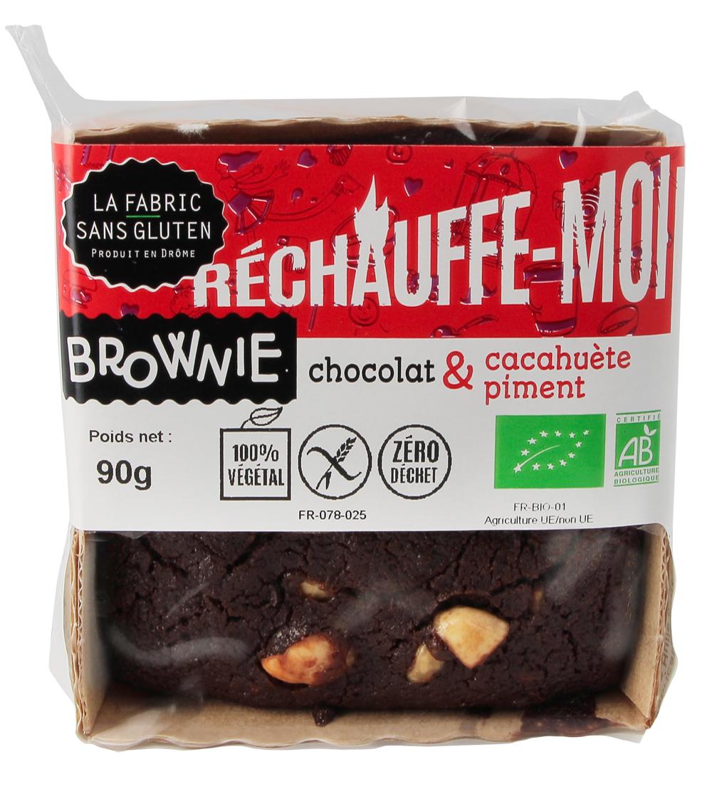 BROWNIES PIMENT LA FABRIC SANS GLUTEN - Brownies : 5 recettes bio et sans gluten pour des goûters réussis