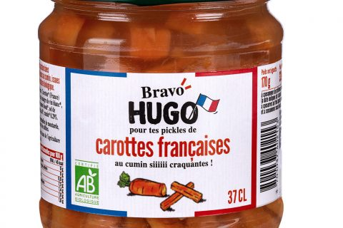 Bravo Hugo Carottes V2 480x320 - Les carottes, courgettes et cornichons en ont dans le bocal avec Bravo Hugo !