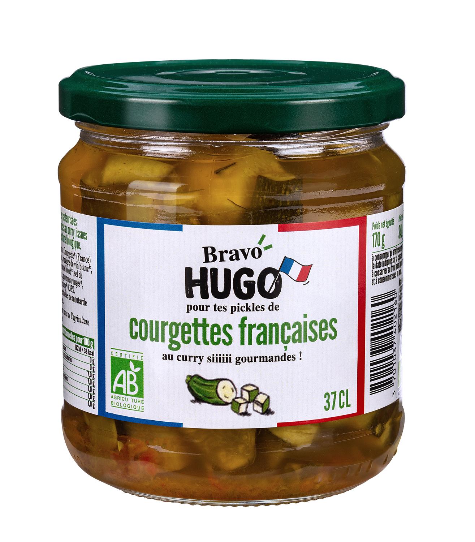 Bravo Hugo Courgettes MD v2 - Les carottes, courgettes et cornichons en ont dans le bocal avec Bravo Hugo !