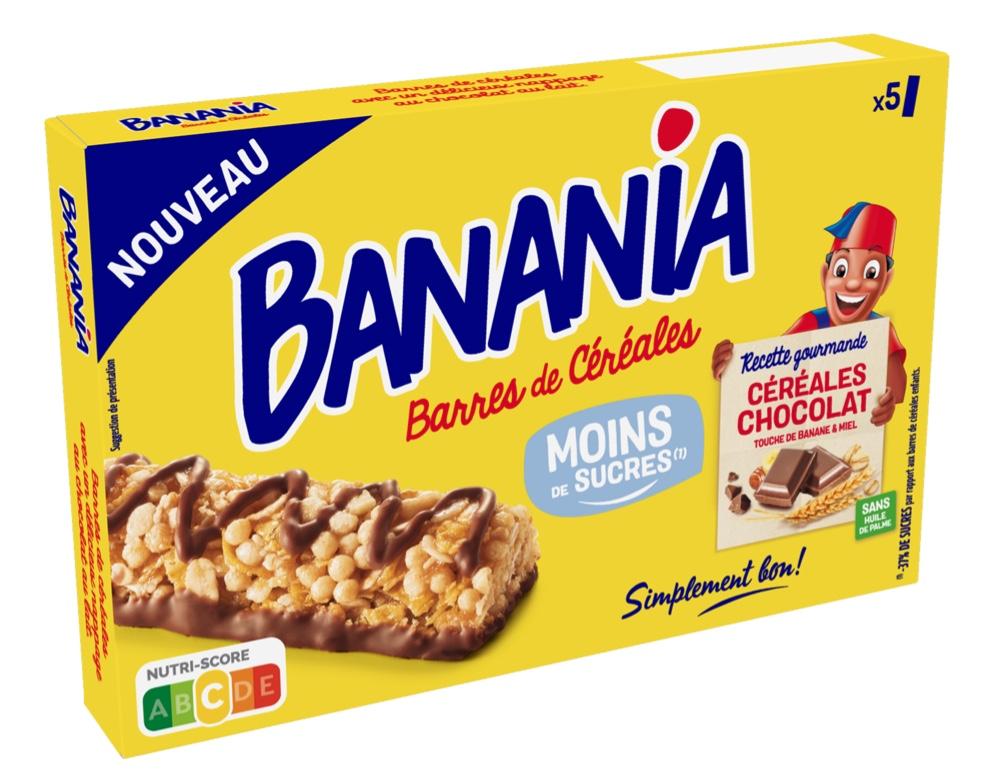 Capture decran 2021 07 20 a 09.23.05 - BANANIA propose une barre de céréales moins sucrée que les barres de céréales enfants du marché