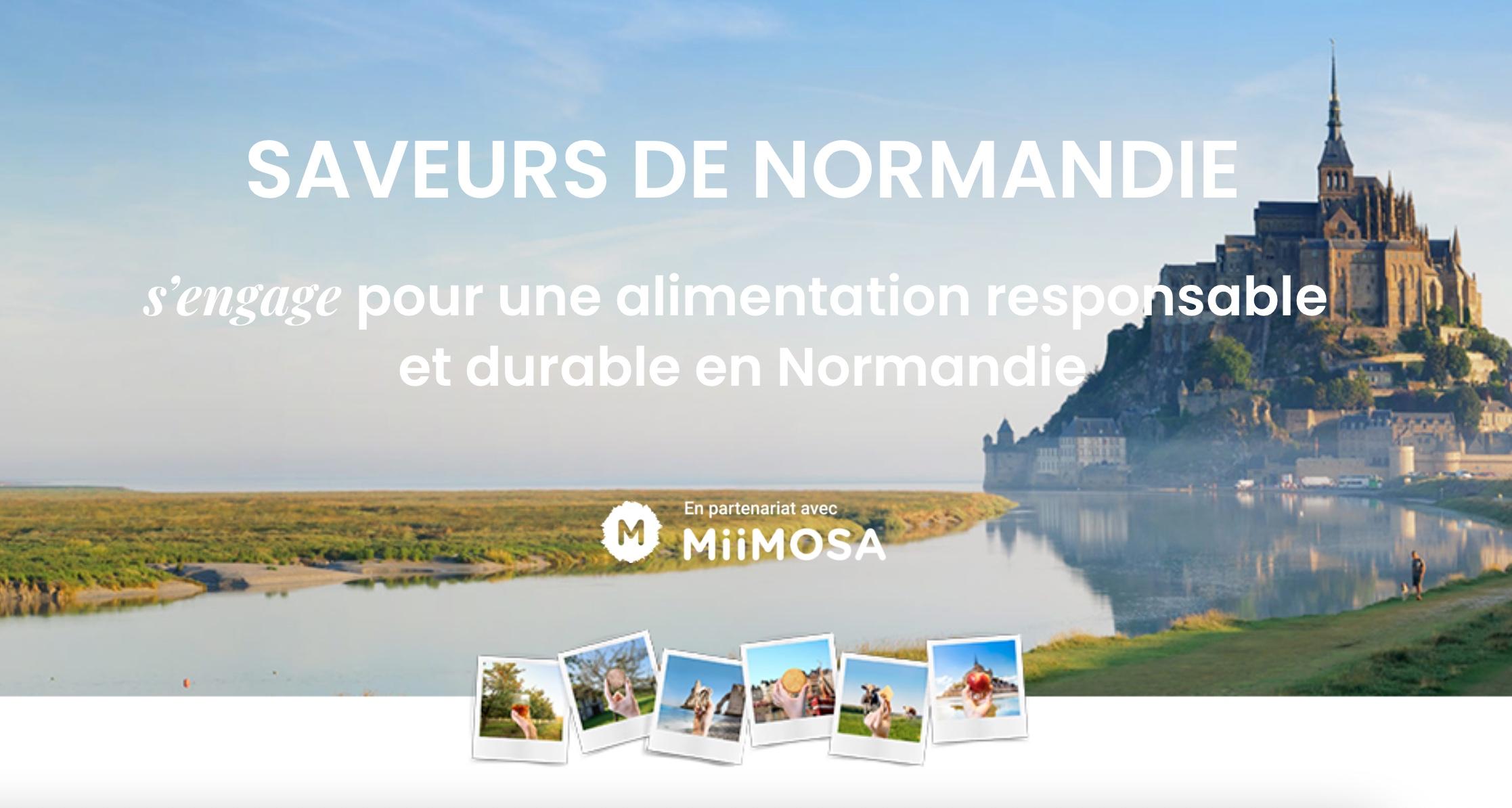Capture decran 2021 07 23 a 22.36.08 - SAVEURS DE NORMANDIE s'engage pour une alimentation responsable et durable en Normandie