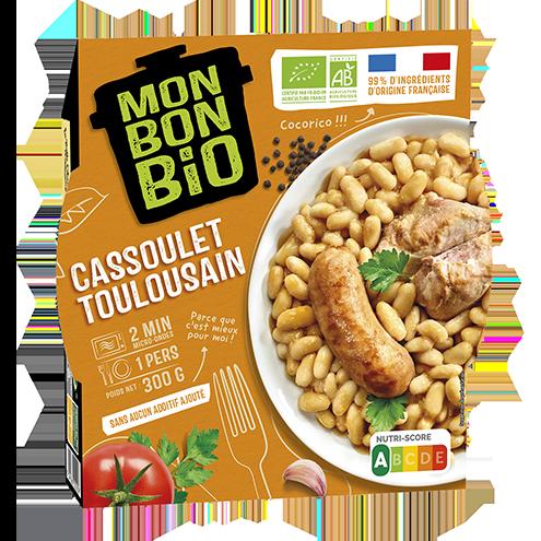 MBB Cassoulet Toulousain 300g pack - Mon Bon Bio, c'est bon et c'est bio naturellement !