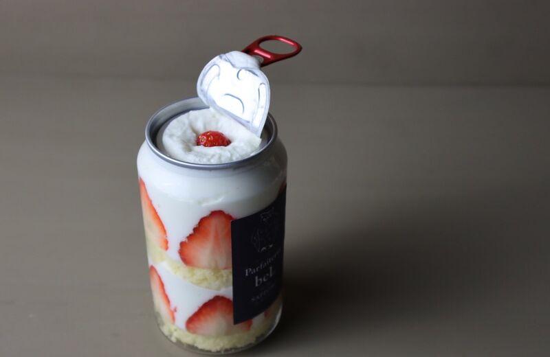 cake in cans - Des desserts en canette