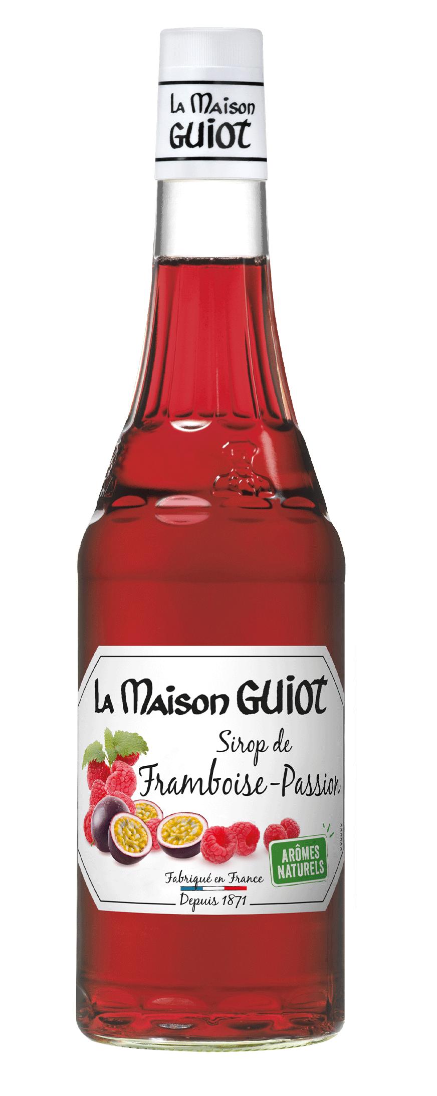 framboise passion - La Maison Guiot lance son 1er sirop fruit rouge fruit jaune