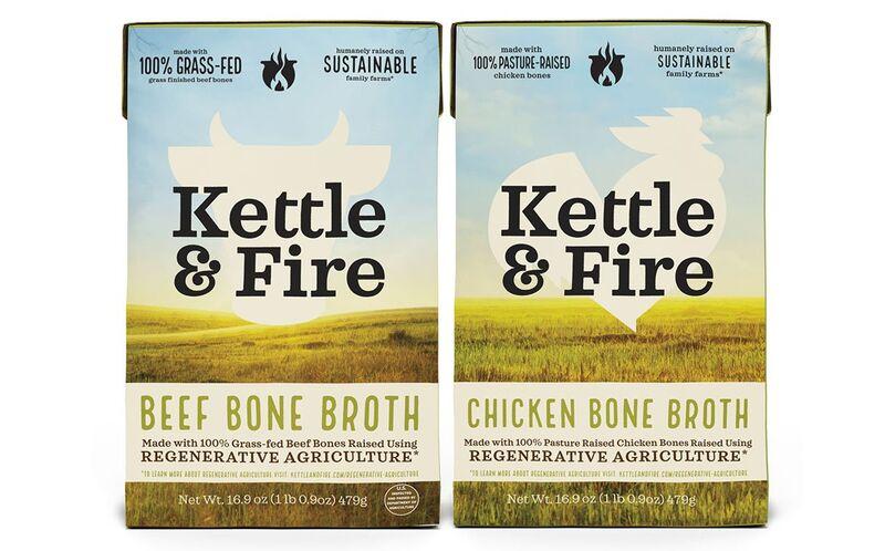 kettle fire bone broths - Des bouillons issus de l'agriculture régénératrice