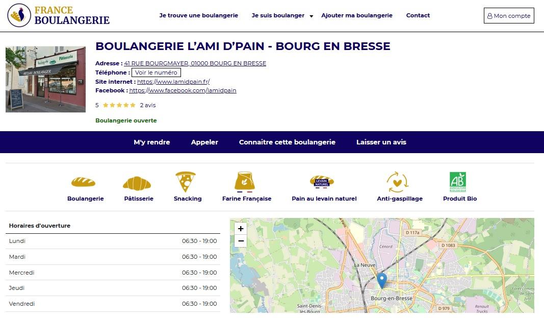 lami dpain - Lancement de FRANCE BOULANGERIE, le réseau des boulangeries artisanales indépendantes