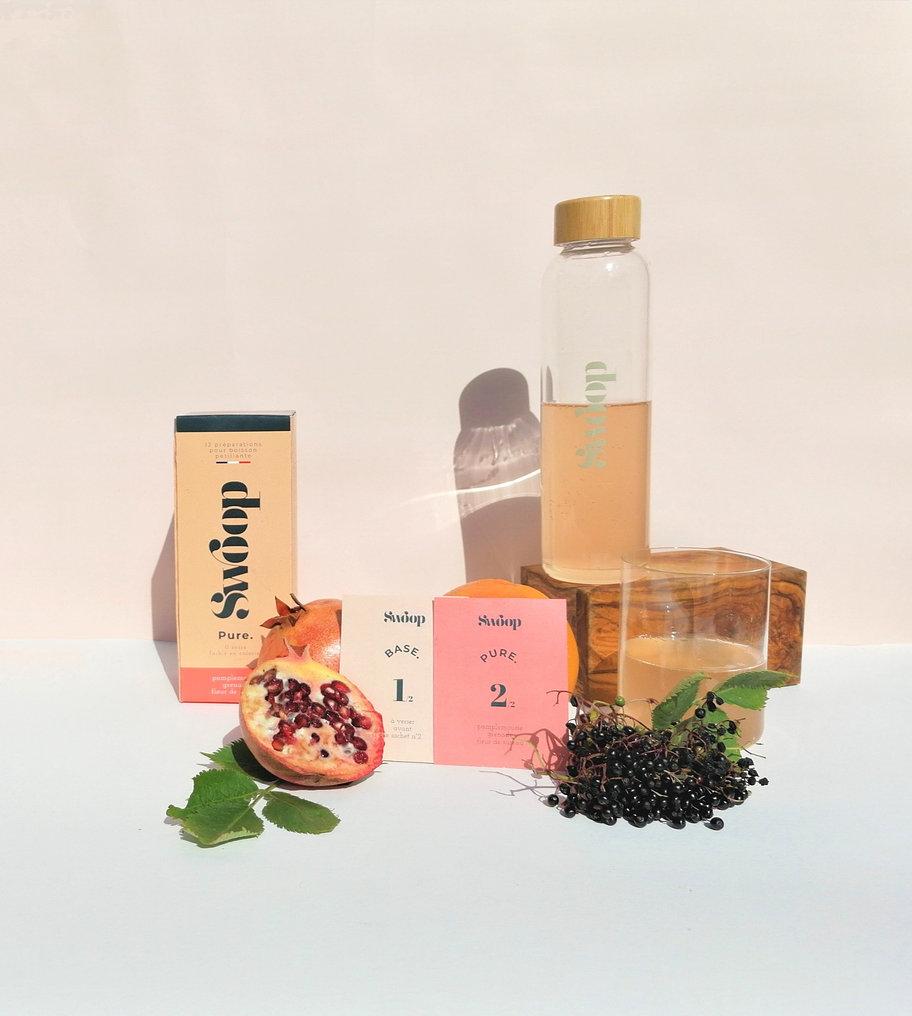 Swoop01 - Swoop transforme l'eau du robinet en une boisson pétillante écologique et saine