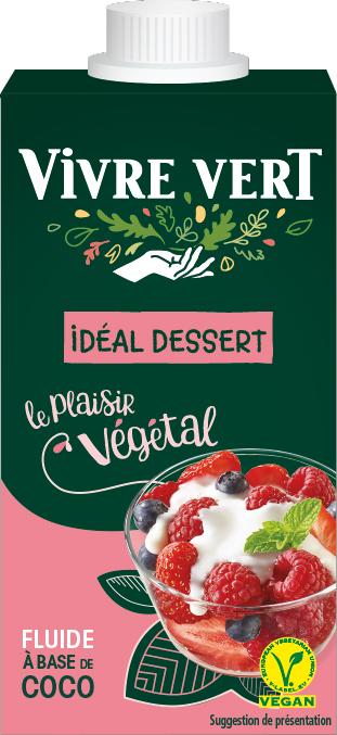VV creme coco - Vivre Vert, le végétal gourmand et engagé au rayon frais