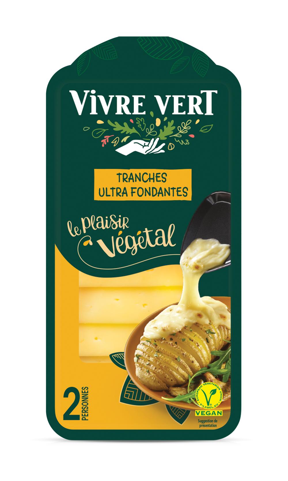 VV 3D raclette - Vivre Vert, le végétal gourmand et engagé au rayon frais