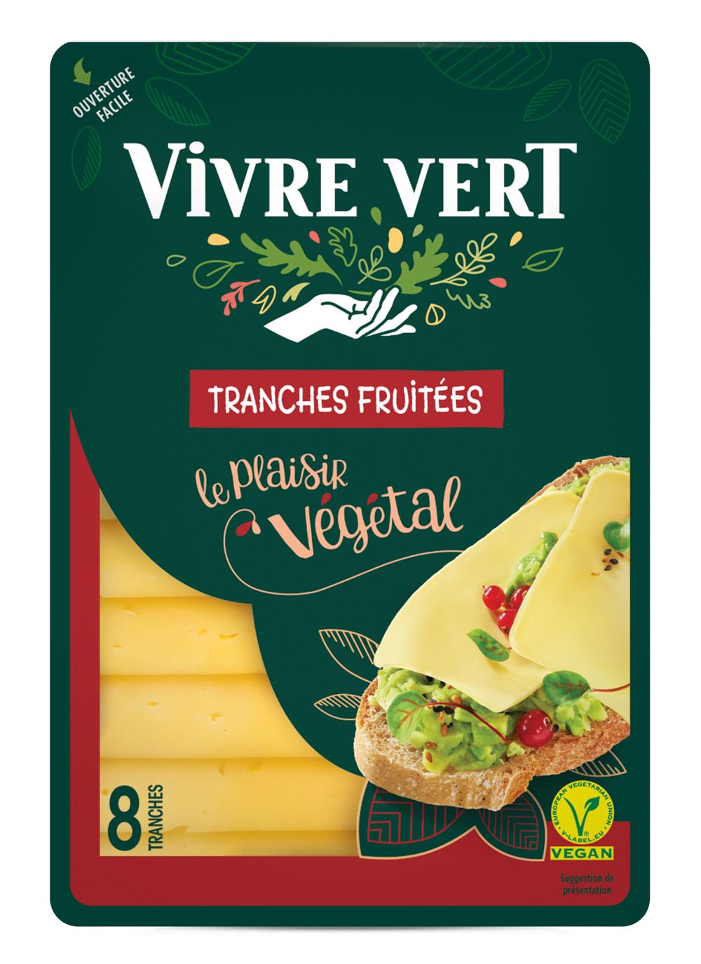 VV 3D tranches - Vivre Vert, le végétal gourmand et engagé au rayon frais