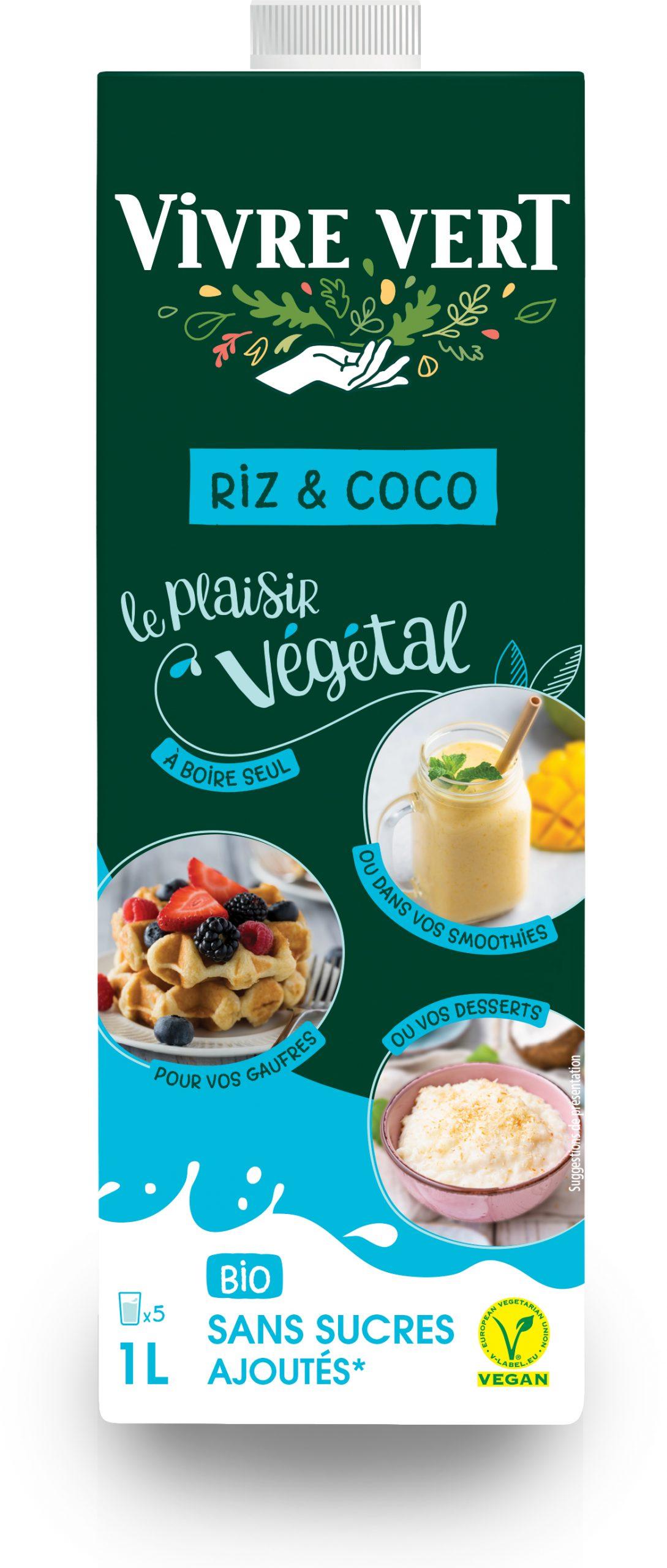 boissoncoco scaled - Vivre Vert, le végétal gourmand et engagé au rayon frais