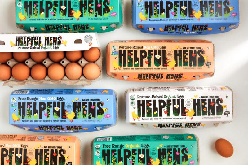 helpful hens - Des oeufs élevés de manière durable